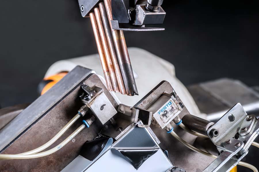 Laserschweißen in der Blechverarbeitung bei Deinzermetall