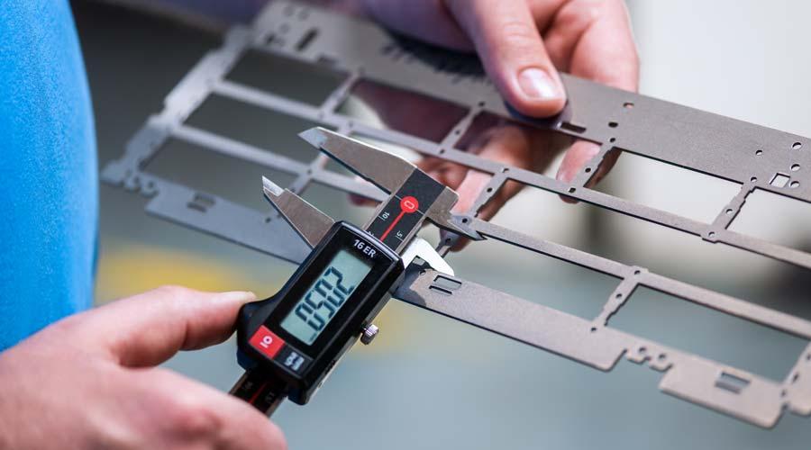 Durchführung einer Messung bei Deinzermetall aus Nürnberg