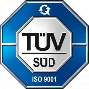 TV Süd Zertifikat ISO 9001 für Deinzermetall